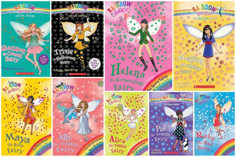 rainbow magic : Books My Kids Read
