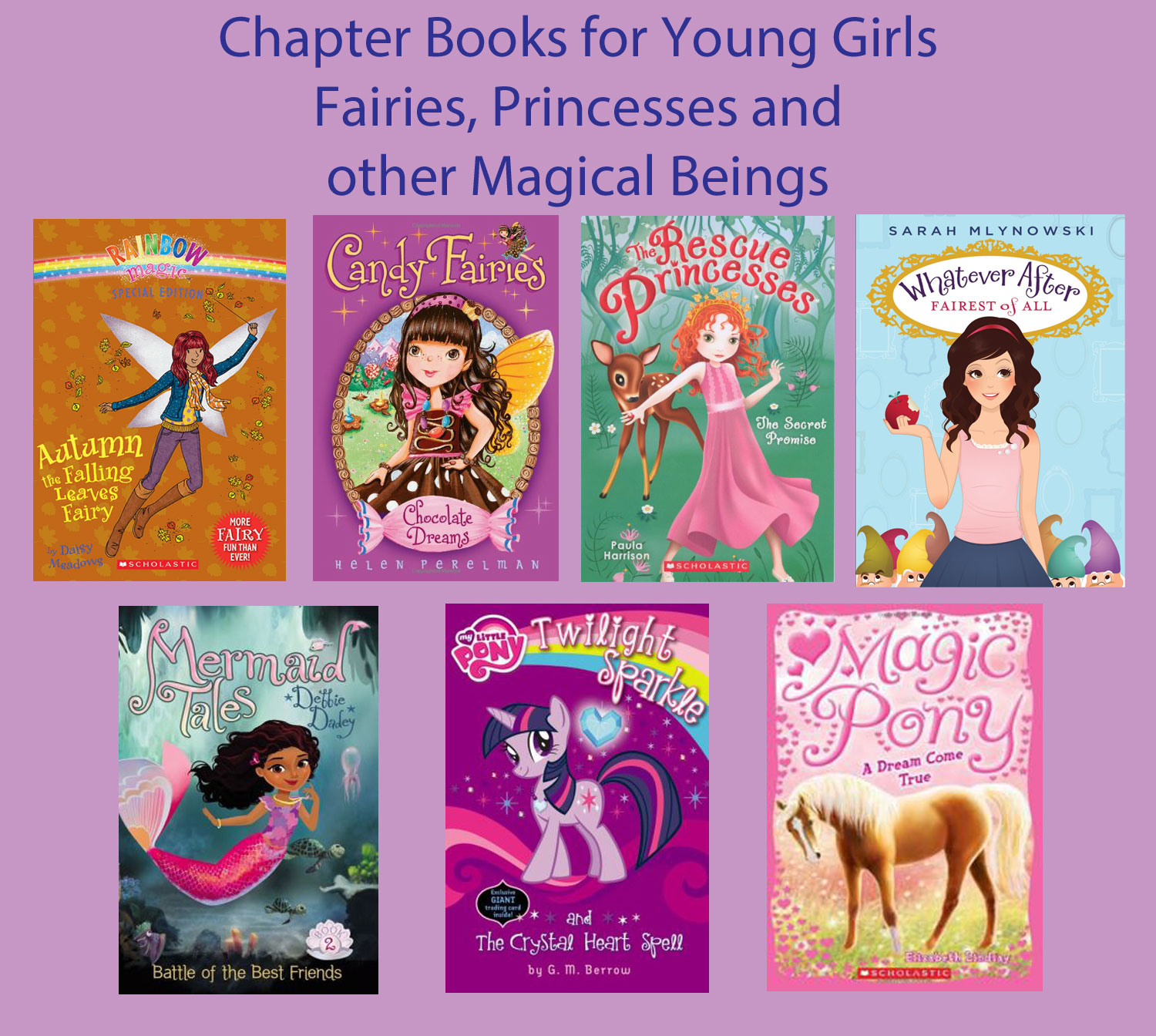 Chapter Books For Young Girls  Fairies, Princesses And -2672