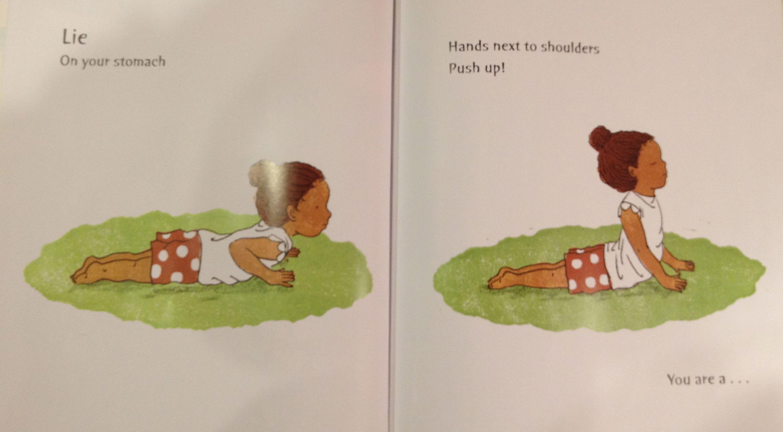 Roar Like A Lion Fun Yoga Book Books My Kids Read