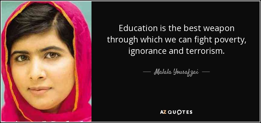 For the Right to Learn – A beautiful biography of Malala Yousafzai ...