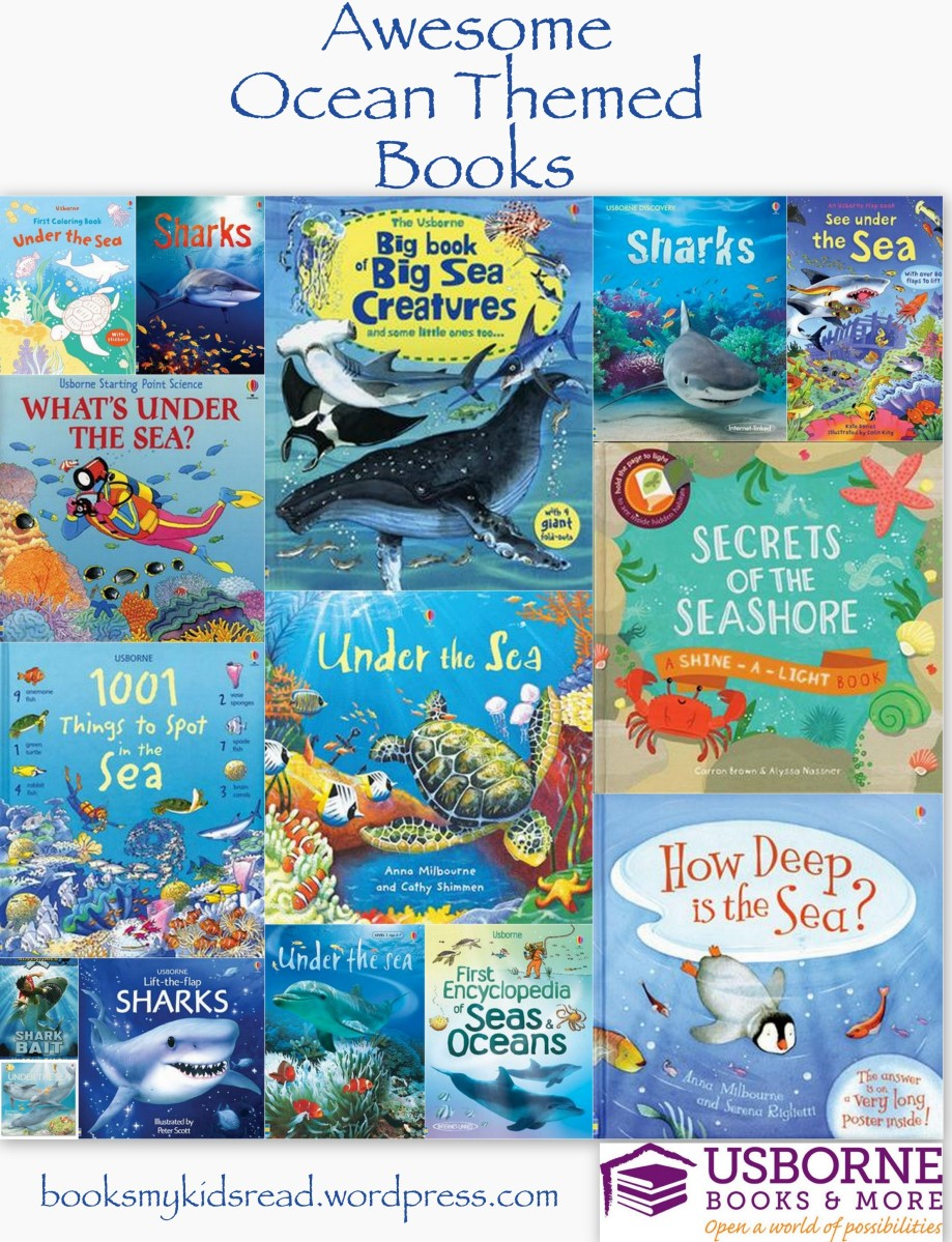 Awesome Ocean Themed Books