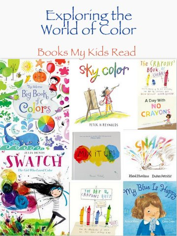 Exploring the world of Color – Books My Kids Read