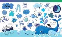 big book colors blue