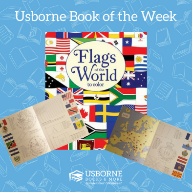 Usborne Book of the Week Flags of the World to Color Books My