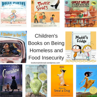 Children's Books on being Homeless and Food Insecurity