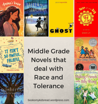 Middle Grade Novels about Race and Tolerance