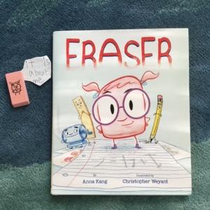 eraser cover laugh